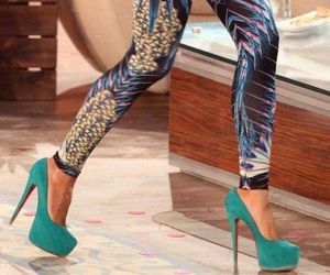 heels and teal heels image