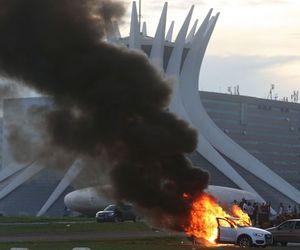 brasil and protesto image