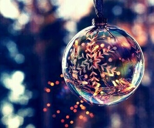 december, winter, and christmas decoration image