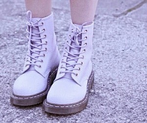 shoes, purple, and boots image