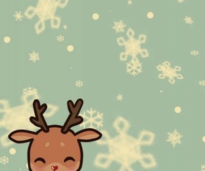 christmas, snow, and wallpaper image