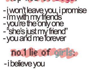 lies, boy, and girl image