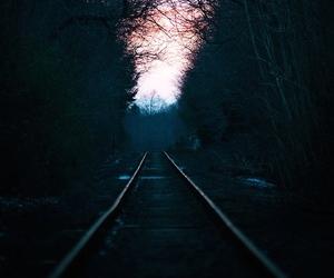 beautiful, dark, and landscape image