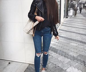 hair and street image
