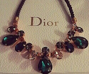 dior, luxury, and necklace image