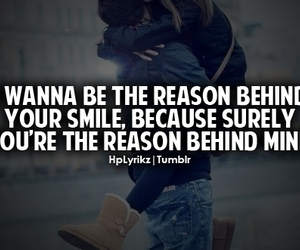 inlove, tumblr, and smile image