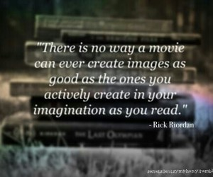 books, rick riordan, and imagination image