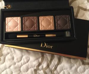dior, makeup, and eyeshadow image