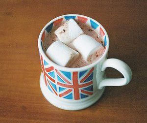 marshmallow, england, and chocolate image