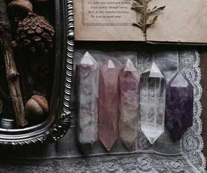 crystal, grunge, and vintage image