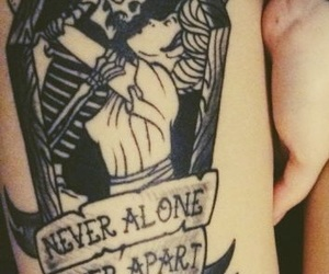 banner, tattoo, and words image