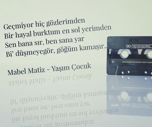 müzik, mabel matiz, and türkçe sözler image