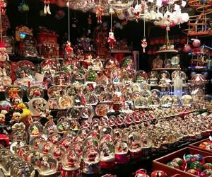 december, gift, and santa image