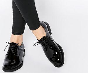 black, minimalism, and shoes image
