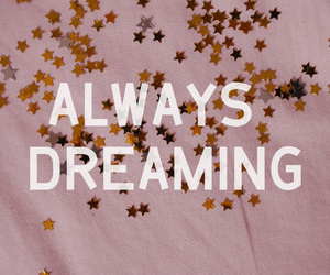 quote, stars, and Dream image