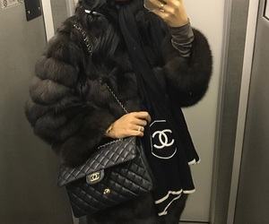 bag, lux, and chanel image