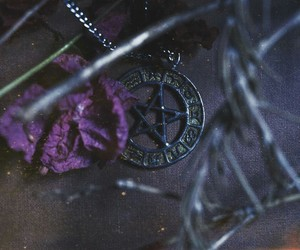 necklace and witch image