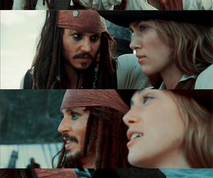 pirate, girl, and jack sparrow image