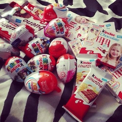 kinder, chocolate, and sweet image