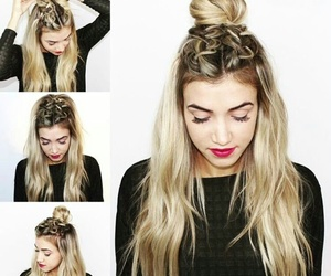 hairstyle and tutorial image