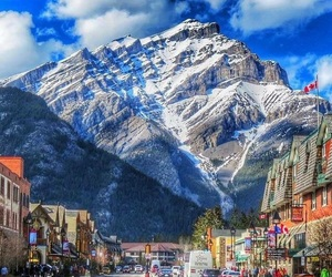 canada, mountains, and travel image