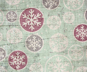 christmas, snowflakes, and patterns image