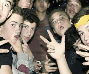 cameron dallas, shawn mendes, and nash grier image