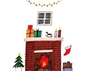 artwork, creative, and fireplace image