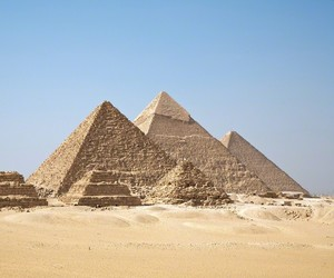 pyramid, egypt, and giza image