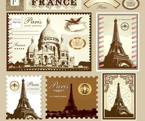 france, illustration, and paris image