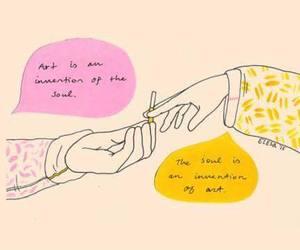 art, tumblr, and wallpaper image