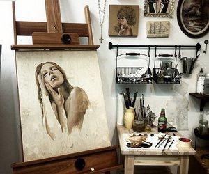 aesthetic, Brushes, and caption image
