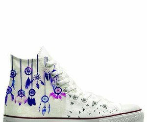 converse, dreamcatcher, and shoes image