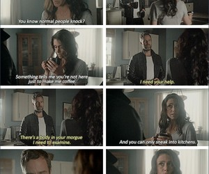 funny, melissa ponzio, and teen wolf image
