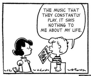 charlie brown and music image