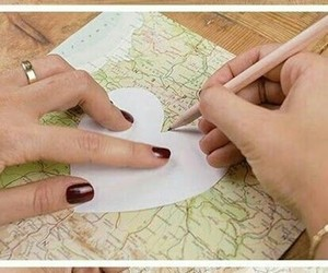 diy, ideas, and map image