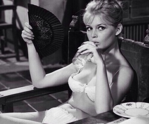 brigitte bardot, vintage, and black and white image