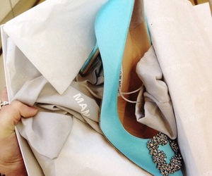 manolo blahnik and shoes image