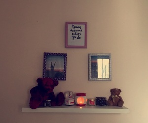 candles, wall, and decor image