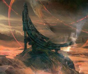 art, fantasy, and sci-fi image