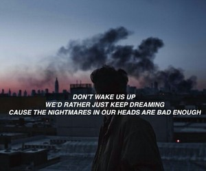 quotes, grunge, and nightmare image