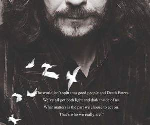 harry potter, sirius black, and quote image