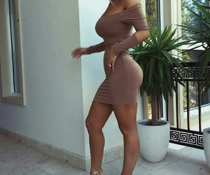 beige and dress image