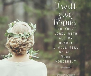 heart, lord, and thanks image