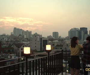 aesthetic, city, and Korean Drama image