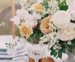 beautiful, bouquet, and bridal image