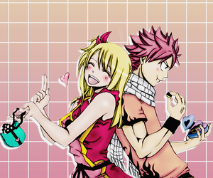 wallpaper, fairy tail, and nalu image