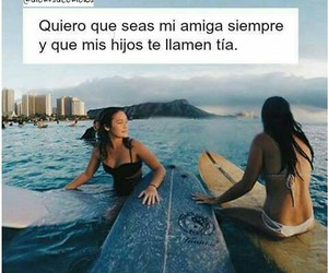 amigas, forever, and frases image