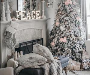 beautiful, chic, and christmas image