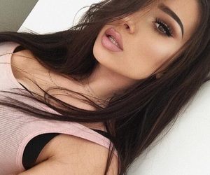 beauty, lips, and pretty image